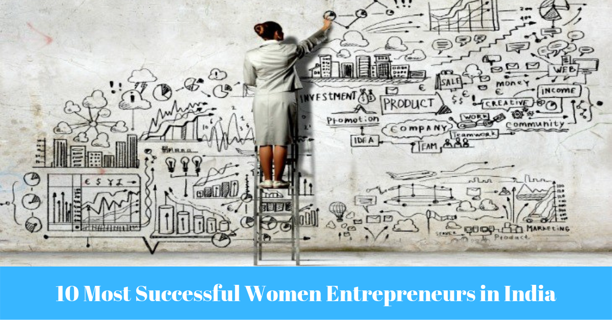 10 Most Successful Women Entrepreneurs in India