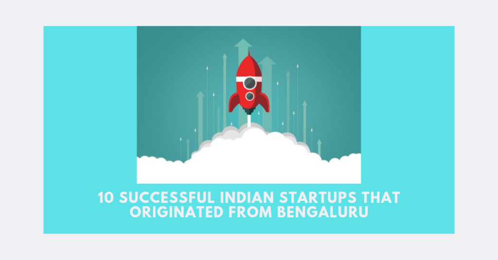 Top Startups in bangalore