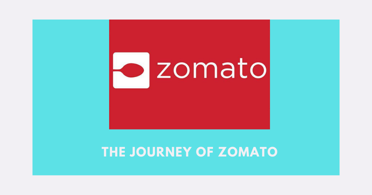 The Journey Of Zomato