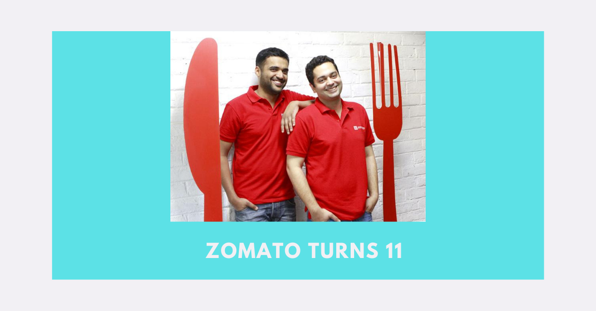 Founder of Zomato Deepinder Goyal on its Growth,  Zomato Gold, Food delivery and its Expansion – Zomato turns 11